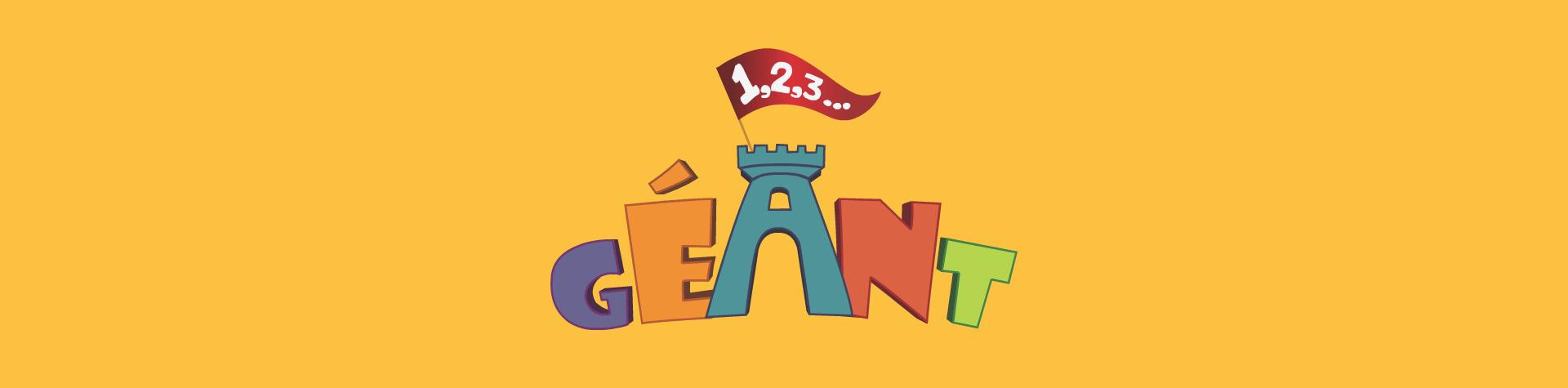Logo 1,2,3 Géant