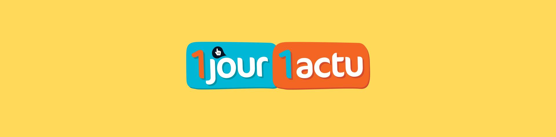 Logo 1 jour 1 actu