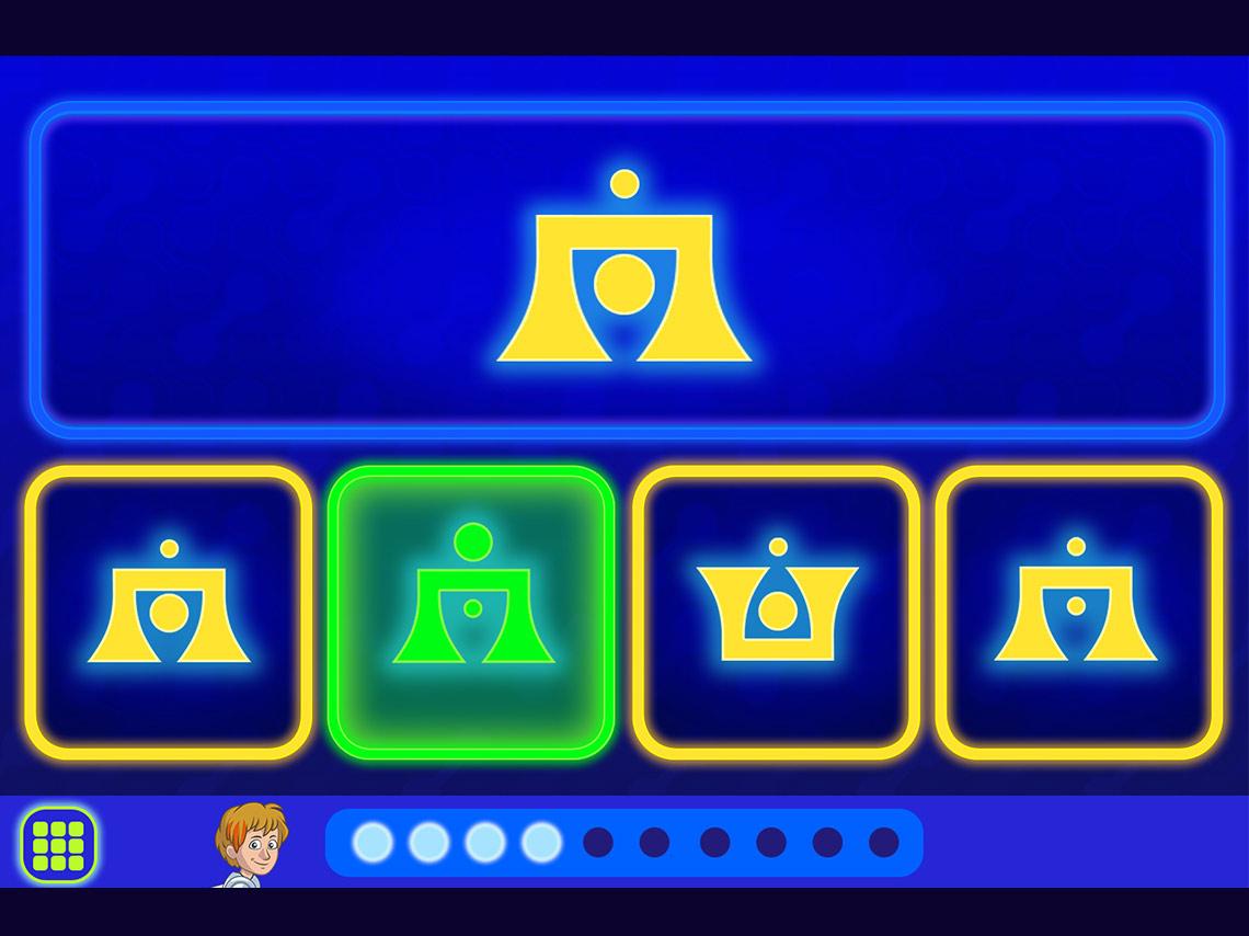 Capture Écran Jeu touver le logo identique