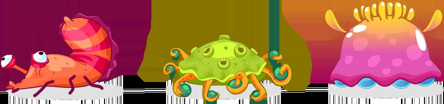 Molusques extra-terrestre