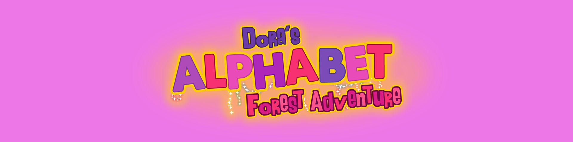 Logo Dora's Alphabet Forest Adventure