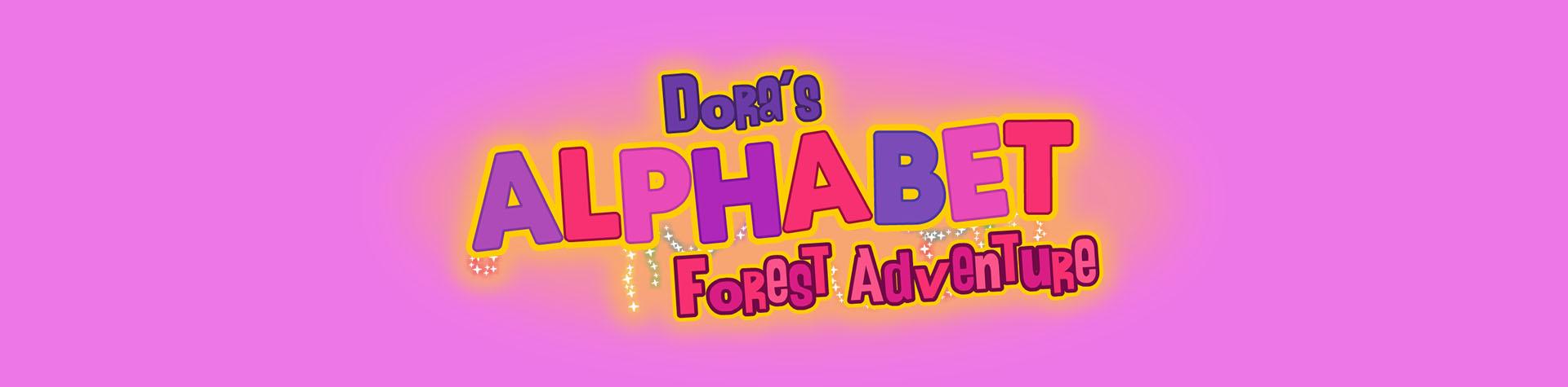 Logo Dora's Alphabet Forest Adventure