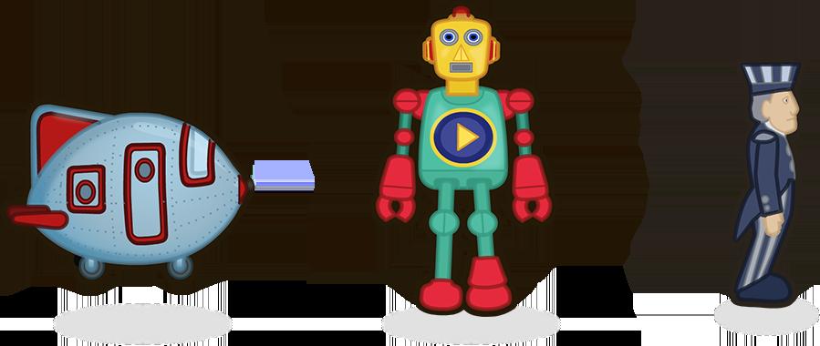 Magli, robot et monsieur Craquepoutte