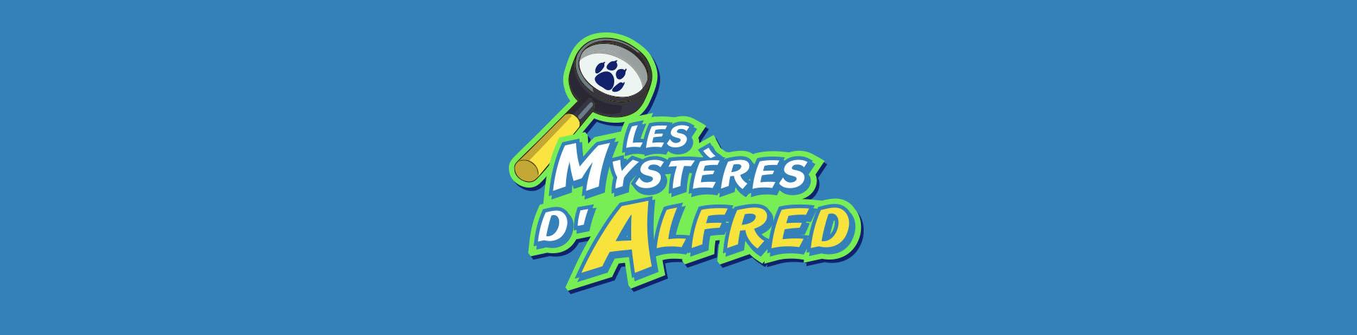 Logo Les mystères d'Alfred-