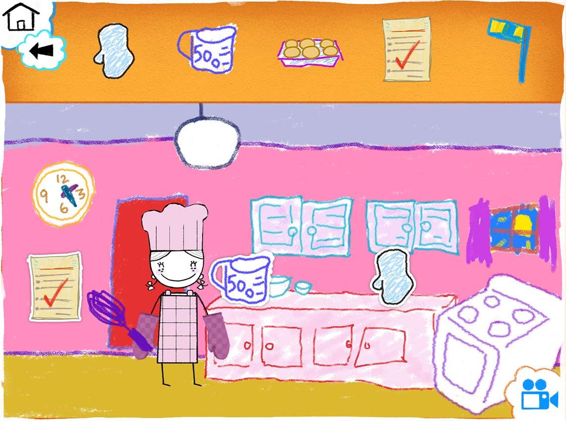 Capture Écran Interface de réalisation de la vidéo