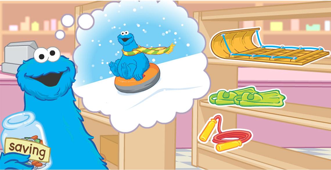 Capture Écran Cookies Monster sélection jouets