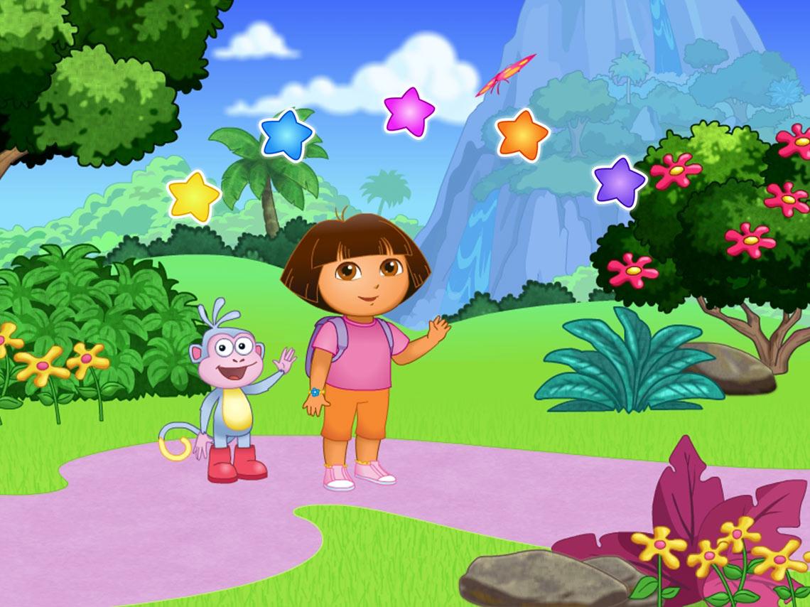 Capture Écran Dora et son singe