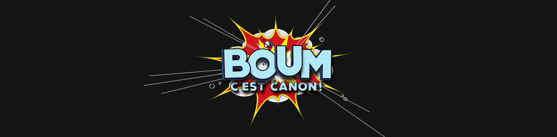 Logo Boum c'est canon!