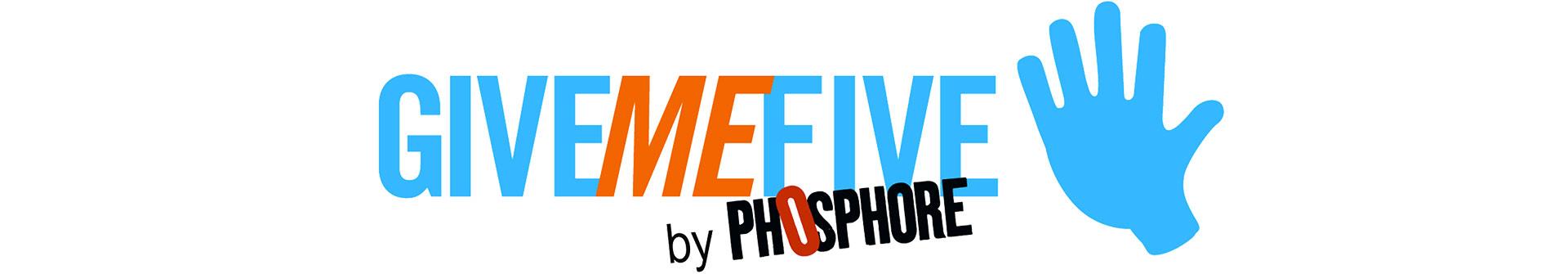 logo Give me five