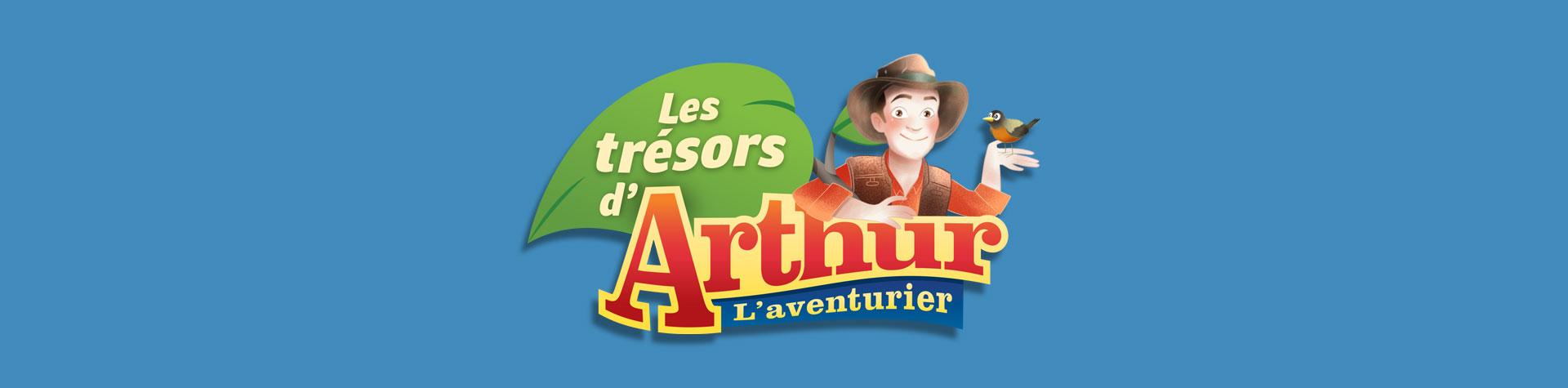 Logo les trésors d'Arthur l'aventurier