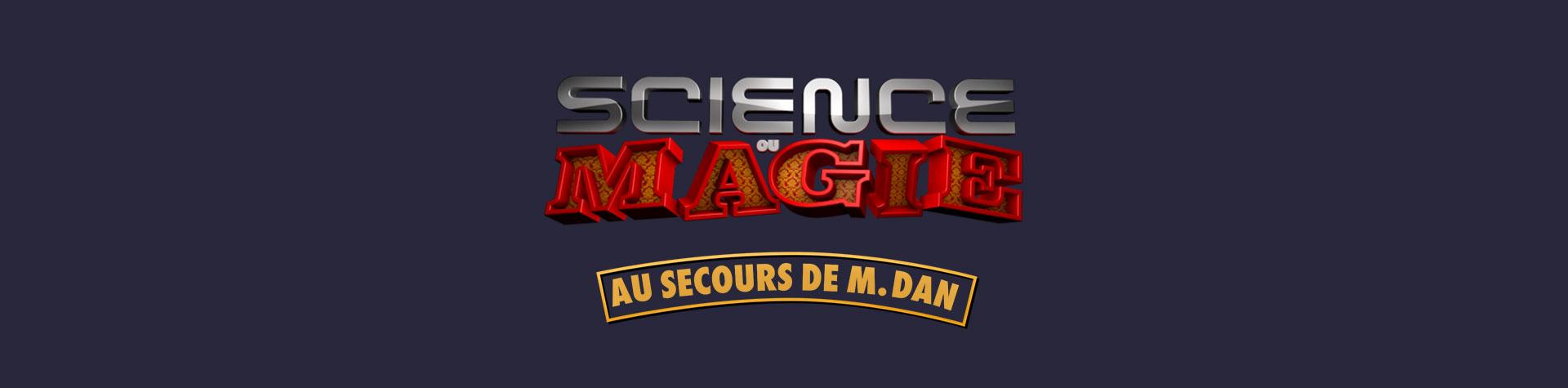 Logo Science ou magie