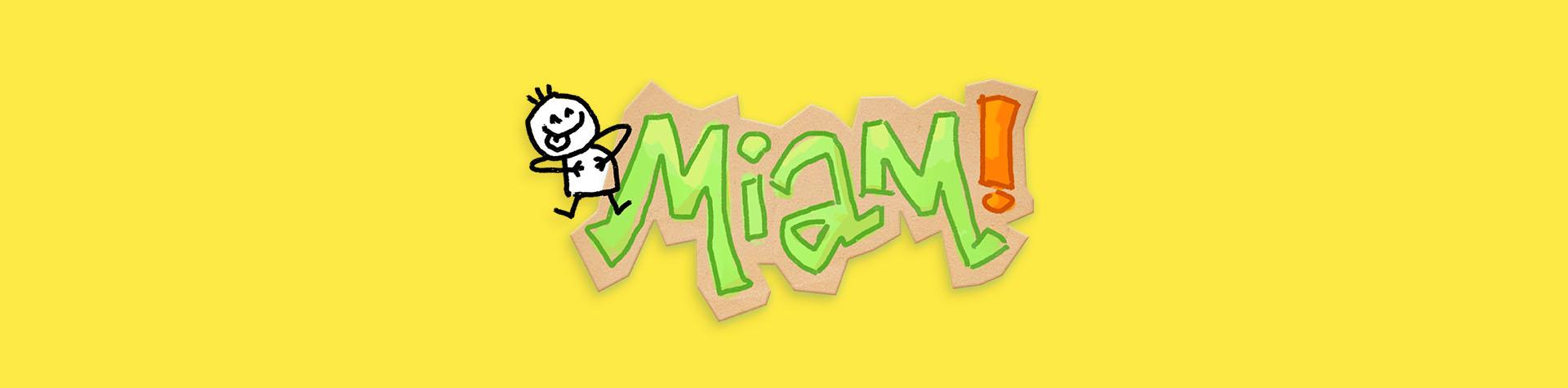 Logo Le Livre de recettes MIAM!