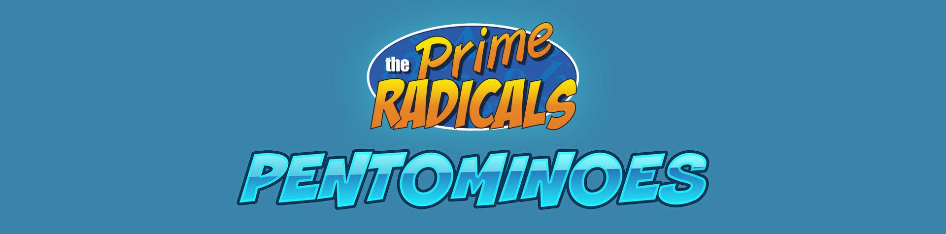 Logo Prime Radicals; Pentomino