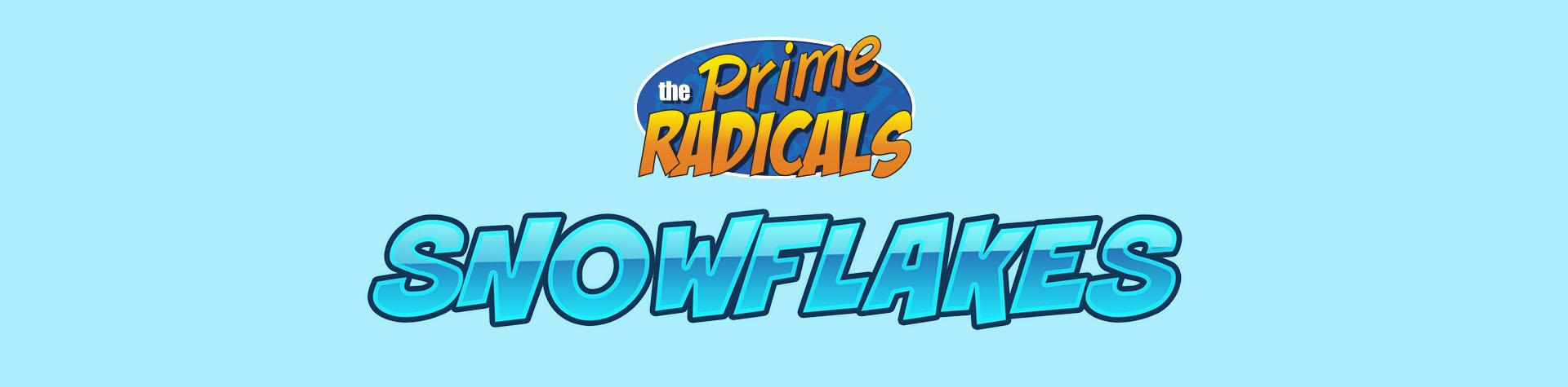 Logo Prime Radicals: Snowflake
