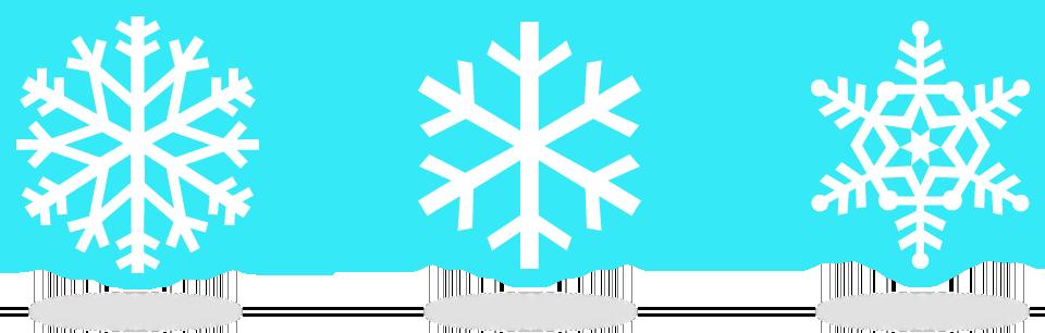 Flocons de neiges